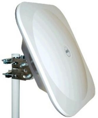 44cm Flat Plate Square Dish Antenna with LNB