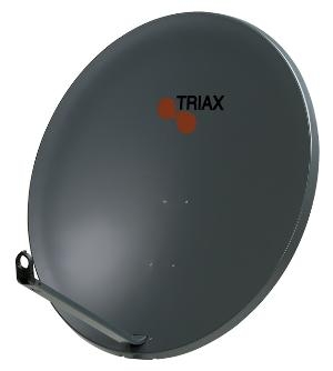 1.1 metre Triax Galvanised Steel satellite Dish